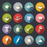 Vector illustration. Cooking icon set Royalty Free Stock Images