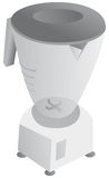 Black and white blender Royalty Free Stock Photo