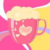 Vector illustration of cup Royalty Free Stock Photo