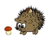 A cute cartoon style hedgehog Royalty Free Stock Photos
