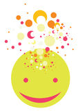 Vector illustration of cute face Stock Photo