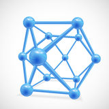 Vector illustration of 3d cubes Stock Photo