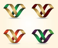 Vector illustration 3D letter Design Stock Photo