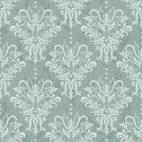 Vector illustration of damask pattern. Damask seamless pattern for design. Vector Illustration stock illustration
