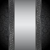 Vector illustration of decorative border. Stock Photography