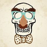 Vector illustration of decorative skull Stock Photo