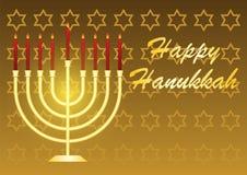 Vector illustration dedicated to the Jewish holiday of Hanukkah royalty free illustration