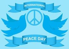 Vector illustration of dove world peace day EPS 10 vector illustration