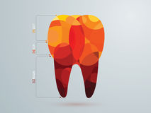 Vector illustration of the dental Royalty Free Stock Images