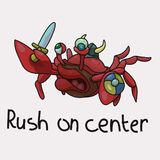 Stupid crab makes a rush in the center vector illustration. Vector illustration depicts the silly crab that catches rush on the center. The attack is doomed to vector illustration