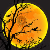 Vector illustration design of halloween day Royalty Free Stock Images