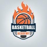 Basketball sport logo template design, vector illustration Royalty Free Stock Photos
