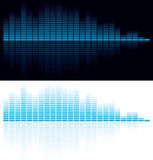 Vector illustration of digital equalizer. For your business presentations Stock Photography
