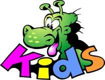 Vector illustration of an Dinosaur For Kids Stock Photo