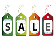 Vector illustration of discount sale Royalty Free Stock Image