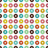 Vector illustration of donut on white background. Vector illustration of donut on a white background Royalty Free Stock Photography