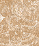 Vector illustration of doodle drawing on the light beige background. Stock Photos