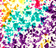 Vector illustration of dynamic creative abstract background Royalty Free Stock Images