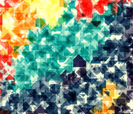 Vector illustration of dynamic creative abstract background Stock Photos