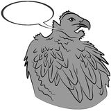 Eagle. An a vector illustration of eagle Stock Illustration