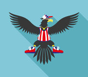 Vector illustration. Eagle. Stock Photography