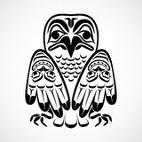 Vector illustration of an eagle. Stock Images