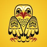 Vector illustration of an eagle. Stock Photo