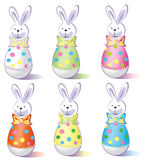Vector illustration, easter egg Royalty Free Stock Image