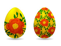 Vector illustration - easter eggs Royalty Free Stock Images