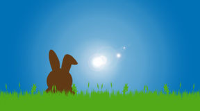 Vector illustration with Easter theme. Royalty Free Stock Photos