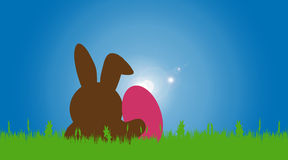 Vector illustration with Easter theme. Stock Photography