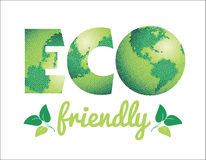 Vector illustration of Eco friendly concept. Stock Image