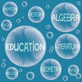 Vector illustration. Education. Stock Images