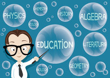 Vector illustration. Education Royalty Free Stock Photo