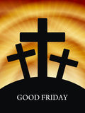 Elegant religious background for good friday. Stock Photo