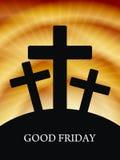 Elegant religious background for good friday. Stock Photo