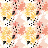 Vector illustration for fabric. Stock Images