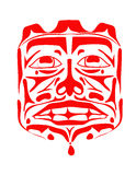 Vector illustration of the face symbol Royalty Free Stock Images
