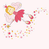 Vector illustration of a fairy Royalty Free Stock Images