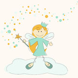 Vector illustration of a fairy Royalty Free Stock Photography