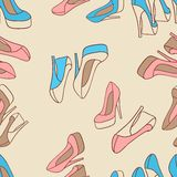 Vector illustration. Fashion background with Royalty Free Stock Photography