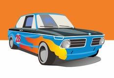 Vector illustration fast car. Cartoon vector illustration fast car Royalty Free Stock Image
