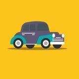 Vector illustration fast car. Cartoon of illustration fast car Royalty Free Stock Images