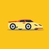 Vector illustration fast car Royalty Free Stock Photo