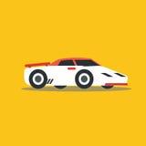 Vector illustration fast car Stock Photos