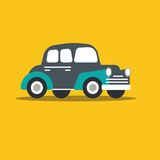 Vector illustration fast car Stock Photography