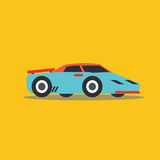 Vector illustration fast car Stock Images