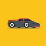 Vector illustration fast car. Cartoon of illustration fast car Royalty Free Stock Photos