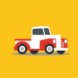 Vector illustration fast car Royalty Free Stock Photography