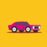 Vector illustration fast car Royalty Free Stock Images